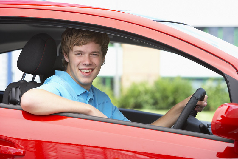 Teen Boy In Red Car | Ford Driving Skills for Life 2020 | Orlando, FL